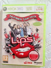 XBOX 360 - LIPS  NUMBER ONE HITS -40 chansons avec clips originaux - avec notice