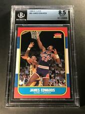 JAMES EDWARDS 1986 86-87 FLEER #29 CARD NM-MINT+ BGS 8.5 PHOENIX SUNS NBA
