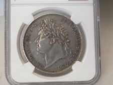 G.B - GEORGE IV -ONE CROWN 1821 SECUNDO -KM# 680.1-CERTIFIED BY NGC X.F 45