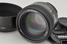 Nikon AF NIKKOR 85mm F1.8D Lens for F Mount with Hood #170304g