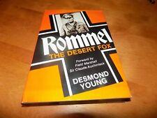ROMMEL THE DESERT FOX North Africa World War II Afrika Korp Normandy WWII Book