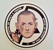"Linkin Park~Chester Bennington~Decal Sticker Adhesive Vinyl~2 5/8""~Alt Rock"