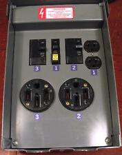 Square-D 100A ServicePak power outlets panel