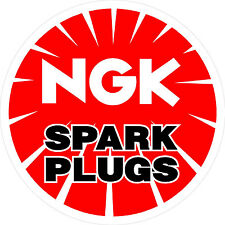 #491 (1) NGK superbike sponsor decal racebike race bike vinyl Ninja CBR GSXR CB