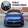 VW Polo 6 VI 2G Front Emblem Schwarz Black Vorne Zeichen Logo AW Beats GTI ACC