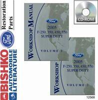 2005 Ford F-650, 750 Super Duty Service Shop Repair Manual ...