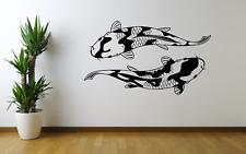 Koi Carp Fish Home Decor Wall Art Decal Sticker Modern A36