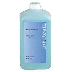 mr. steam ms-oil3 evergreen aromatherapy oil, 1 liter