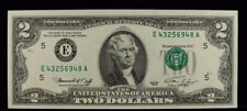 1976 SERIES FEDERAL RESERVE NOTE $2 ERROR THIRD PRINTING SHIFT