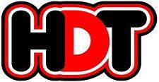 HDT STICKER (Black & Red) 175 x 90  BUY 2 & Get 3