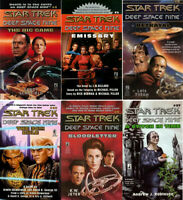 1979-2002 Star Trek Deep Space 9 Pocket Paperback Book Collection—Choice of 27
