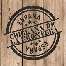 Vinilo de Corte Chiclana de la Frontera España 10 cm Adhesivo Pared Tablet Coche