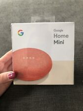 Google Home Mini Smart Assistant - Coral