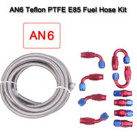Fuel Hose kit PTFE Teflon Fuel Hose kit Compatible with All sized correctly Car