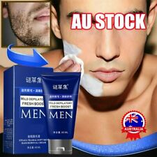 Permanent Hair Removal Cream Depilatory Paste for Body Pubic Armpit For Men D7