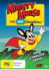 Mighty Mouse The New Adventures (DVD, 3-Disc Set) BRAND NEW SEALED