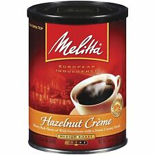 Melitta Hazelnut Creme Ground Coffee, 11-Ounce Cans (Pack of 1)