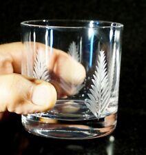 Beautiful Stuart Crystal Woodchester Whiskey/ Old Fashioned Tumbler