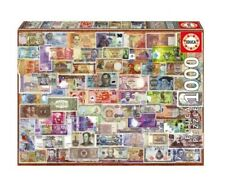 "NEW Educa Jigsaw Puzzle 1000 Pieces Tiles ""World Banknotes"""