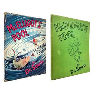 McElligot's Pool – ORIGINAL 1ST EDITION – 250/250 DJ Open Mouth – Dr. Seuss 1947