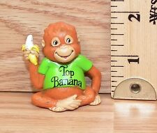 "Vintage Ljn 1981 Bogey the Monkey ""Top Banana"" Pvc Figure Only *Read*"