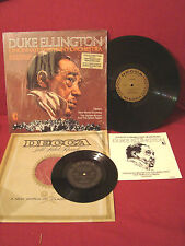 DUKE ELLINGTON CINCINNATI SYMPHONY ORCHESTRA + LIMITED ED BONUS RECORD BOTH VG++