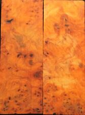 Bookmatched Paela Burl Knife Scales, Pistol Grips(703)