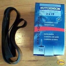 Chambre à Air Hutchinson 2x19 + Fond de Jante - Solex 1400 1700 2200 3300 3800