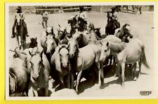 cpa FRANCE Old Postcard Photo GEORGE, ARLES sur RHÔNE Cavalier Guardians Chevaux