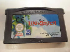 Nintendo Game Boy Advance GBA  Lilo & Stitch