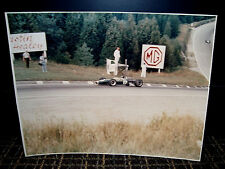 1967 Jim Clark Vintage Oversized Period Photo Canadian Grand Prix Winner