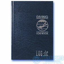 LOG-IT Scuba Divers Dive Log Book Hard back keep a record of all your diving.