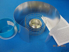 TOP JET ALCOHOL STOVE & Pot Stand & Windscreen 1.6 oz for backpacking & camping