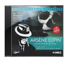 Arsène Lupin und die Insel der 30 Särge * CD Krimi Hörspiel MP3-CD Pidax Neu Ovp
