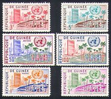 Guinea 1959 UN/United Nations/Building/Palm Trees/Animation 6v set (n33927)