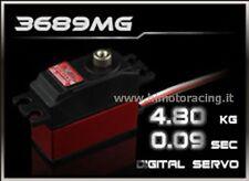 """SERVO DIGITALE POWER HD 4.8 Kg """"low profile""""CON INGRANAGGI IN TITANIO HD-3689MG"""