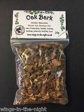 OAK Dried Magickal Bark ~ Protection/Healing/Money/Potency/Fertility ~ Pagan