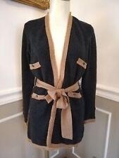 Magnifique cardigan veste CHANEL cachemire / Pre-owned Chanel cashmere cardigan