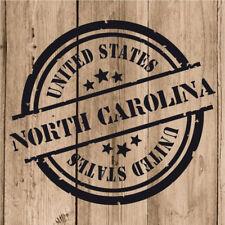 Vinilo de Corte North Carolina Pegatina Carolina del Norte United States 10 cm