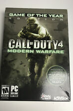 Call of Duty 4: Modern Warfare Game of the Year Edition - PC - VERY GOOD