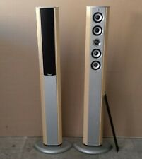 Teufel Concept R Standlautsprecher Säulen Boxen * Ahorn Holz Lautsprecher