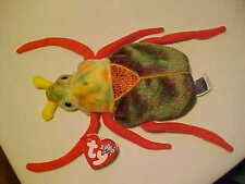 Retired Beanie Babies Scurry the Beetle Bug DOB 1/18/2000