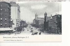 Pennsylvania Avenue   Washington D.C. UDB Jarvis Postcard 3117