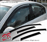 4pcs JDM Visors Rain Guard VW Golf 1999-2001 2002 2003 2004 2005 4DR GLS TDI GL