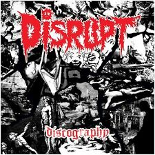 Disrupt ‎– Discography 4X LP Ltd Red Vinyl / New Sealed (2016) Punk Grindcore