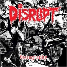 Disrupt – Discography 4X LP Ltd Red Vinyl / New Sealed (2016) Punk Grindcore