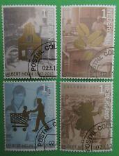 Nederland NVPH 2905 - 2908 Albert Heijn 125 jaar 2012 mooi gestempeld
