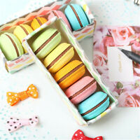 5* Macaron Rubber Eraser Creative School Students Novelty Cute Stationery