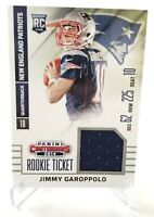 2014 Jimmy Garoppolo RC #RTS-21 Panini Contenders Rookie Ticket Facing Left Pats
