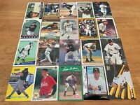 Lot of 100 ROBIN VENTURA Baseball Cards TOPPS DONRUSS SCORE FLEER WHITE SOX+++